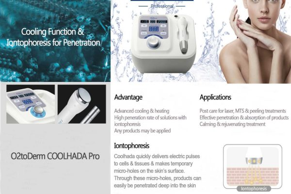Trisys O2toDerm Coolhada Pro
